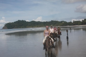 horses, samara beach