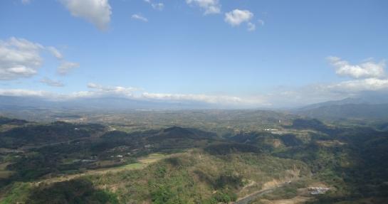 ariel view costa rica