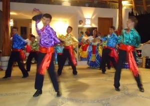 One dance had a Torero/bull-riding theme.