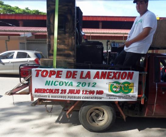 Tope de la Anexion = Guanacaste Days.