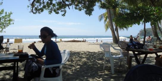 Restaurant Lo Que Hay Playa Samara Costa Rica