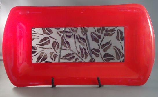 fused glass art samara costa rica