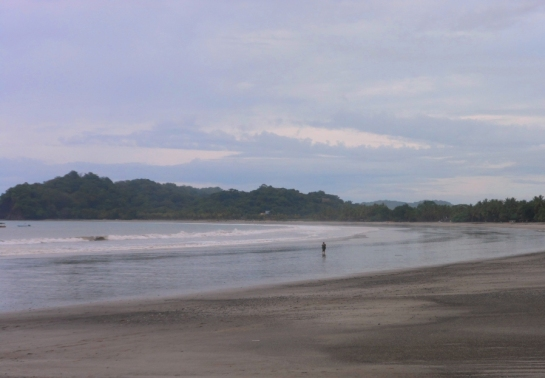 lonley beach samara costa rica