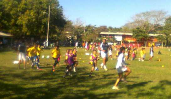 childrens soccer camp