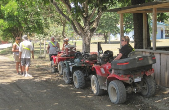Last Sunday we joined Trail Boss ATV Tours for an afternoon of fun and adventure.