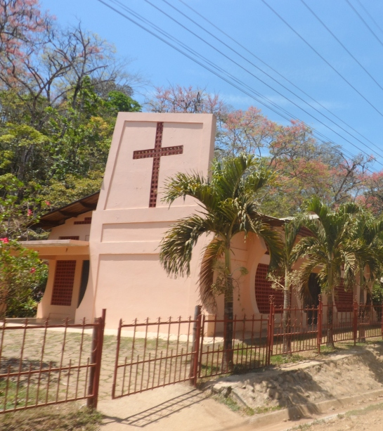 Every village has a church.