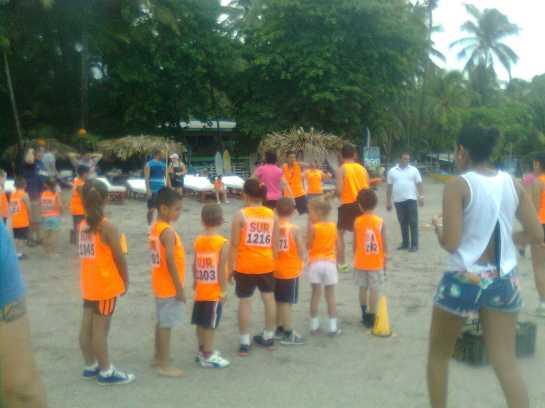 kids activities on playa samara beach