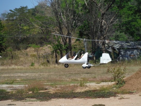 gyrocopter rides costa rica